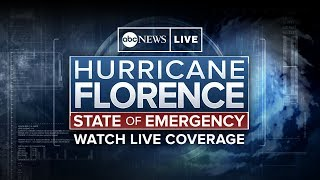 Massive Hurricane Florence, with tropical storm-force winds hundreds of miles wide, was bearing down on the Carolinas Thursday, pounding the coast with driving rain and powerful waves.   SUBSCRIBE to ABC NEWS: https://www.youtube.com/ABCNews/ Watch More on http://abcnews.go.com/ LIKE ABC News on FACEBOOK https://www.facebook.com/abcnews FOLLOW ABC News on TWITTER: https://twitter.com/abc GOOD MORNING AMERICA'S HOMEPAGE: https://www.goodmorningamerica.com/