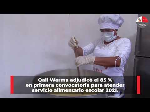 Qali Warma: una alimentación saludable y de calidad es nuestro compromiso.