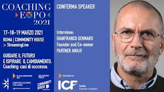 Youtube: Coaching Expo 2021 | Open Talk | LA NUOVA FRONTIERA DEL COACHING | in collaborazione con Awair