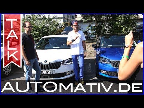 Skoda Fabia (2019) oder VW Polo (2018)? TALK mit Rundflug über Mladá Boleslav