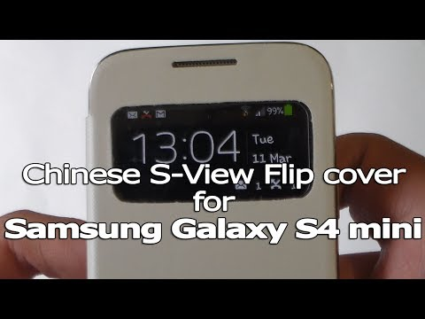 Chinese S-View Flip cover for Galaxy S4 mini - Review