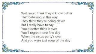 Chris Rea - Soup of the Day Lyrics