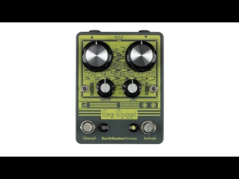 EARTHQUAKER DEVICES Gray Channel Kytarový efekt