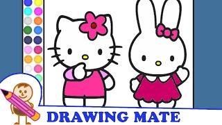 Hello Kitty Coloring Pages Coloring Book ♥ Kolorowanki Malowanki dla Dzieci Hello Kitty