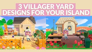 3 House Exteriors Speed Build   Animal Crossing New Horizons