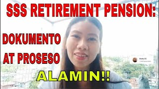How to apply SSS Retirement Pension/ Benefits