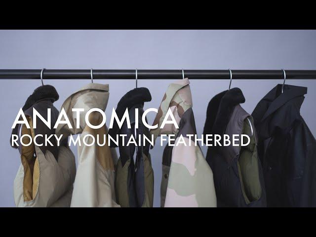 【Rocky Mountain Featherbed】ANATOMICA創設者であるピエール・フルニエ氏の原点『GLOBE』でリリースしていた2型3カラーを復刻。その歴史と共に商品をスタッフが解説。