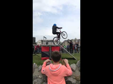 Red bull bmx at weston super mare