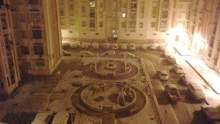 preview picture of video 'ولاية برج بوعريرج تكتسي الحلة البيضاء neige sur BBA 2014'