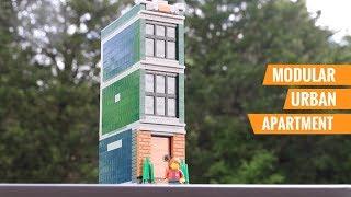 Custom LEGO Modular-Compatible Urban Apartment MOC!