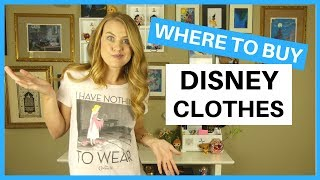 Where To Buy Disney Clothes