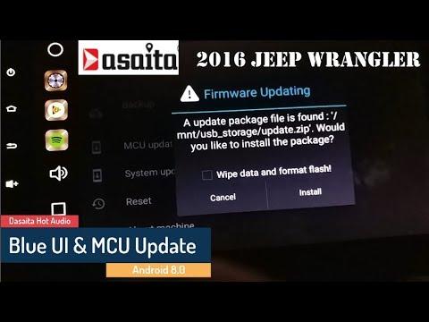 Dasaita V600 System And Mcu Update Rockchip Px5 Mtcd