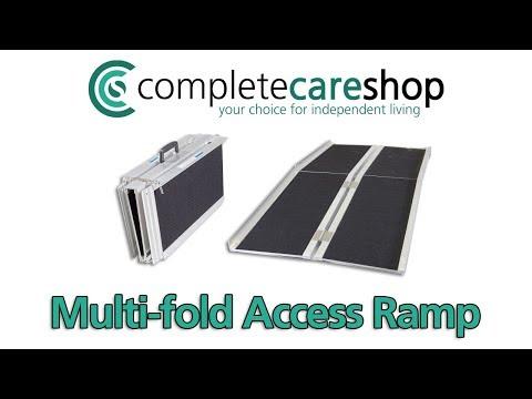 Folding Wheelchair Ramp