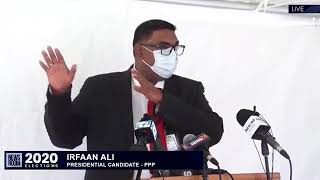 Recount Day 15 Update by President-in-waiting Dr Irfaan Ali May 20th 2020