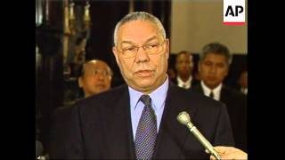 Powell trip announced, Sec of State at quake-hit embassies