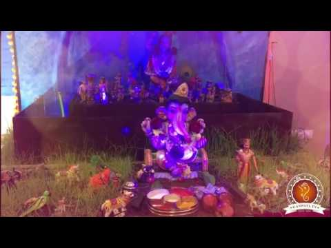 Roheen Kothari Home Ganpati Decoration Video