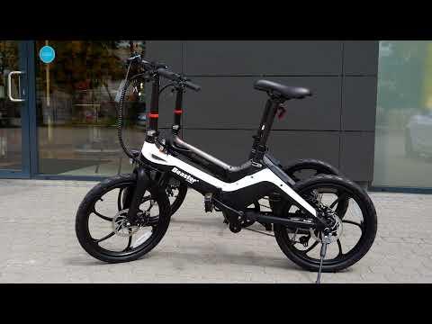 Elektrinis dviratis Beaster BS90, 250 W, 36 V, 8 Ah, sulankstomas kaina ir informacija | Dviračiai | pigu.lt
