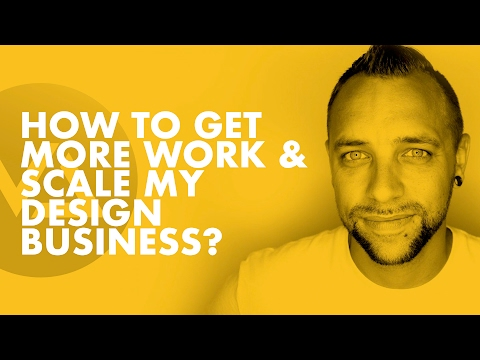 How Do I Get More Work & Scale My Design Business? w/Aaron Pierson (Pt.2)