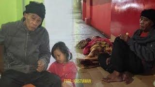 Ayah dan Putrinya Tidur di Pinggir Jalan, Istri Telah Meninggal hingga Tak Mampu Lagi Bayar Sewa