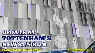 UPDATE AT TOTTENHAM'S NEW STADIUM: Unlikely To Open Against Palace And Brighton Due To Cup: 18/02/19