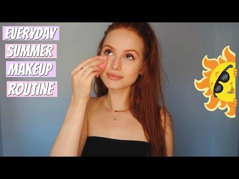 my go to summer makeup tutorial!   Madelaine Petsch