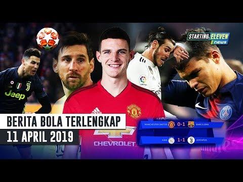 Barca Menang, Juve Imbang ⚽ Pensiunnya Thiago Silva 😐 Bale Tak Mau Ke EPL ( Berita Bola )