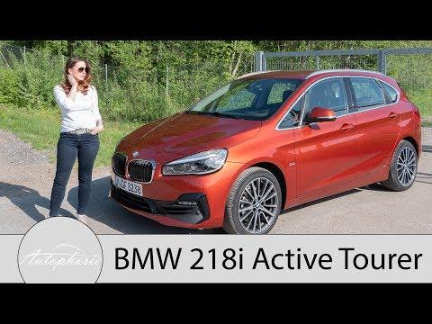 2018 BMW 218i Active Tourer (F45 LCI) Fahrbericht / SUV-Alternative für Familien - Autophorie