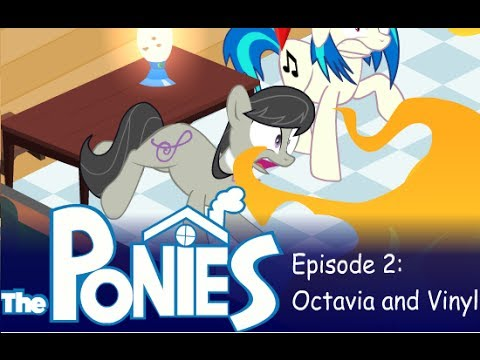 my little pony in the sims episode 2 octavia and vinyl scratch