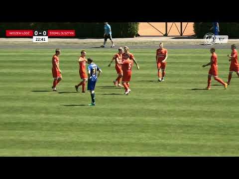 Widzew - Stomil (gol na 1:0 - Michał Miller)