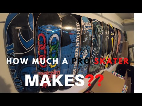 HOW MUCH A PROFESSIONAL SKATEBOARDER MAKES IN 2020