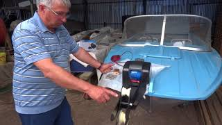 Якорные лебедки для лодок трак 45 лет