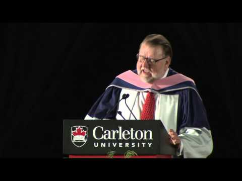 Ben Heppner awarded degree of Doctor of Music (Carleton University, 147th Convocation)