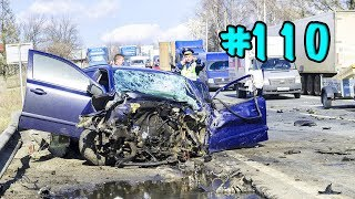 CAR CRASHES IN AMERICA. BAD DRIVERS USA AND CANADA | Crazy Drivers Car Crashes #110