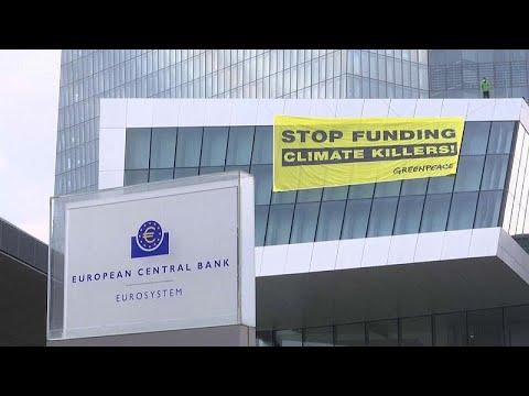 Επεισόδιο με ακτιβιστές της Greenpeace σε κτίριο της ΕΚΤ