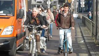 Eight To Eighty, People Of All Ages Cycling In The Netherlands