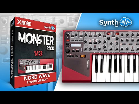 BONUS SOUNDS | MONSTER PACK MKIII | NORD WAVE | Synthcloud Library