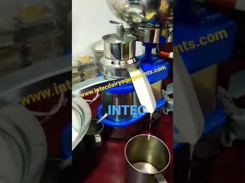 INTEC - 60 LPH / 90 LPH Electric Milk Cream Separator / Descremadora