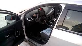 Проверка реального пробега  Renault Megane III