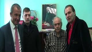 Леван Ткебучава-Путин в отделении КПРФ г. Егорьевска