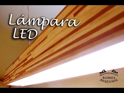 Cómo hacer una Lampara LED de Pallet - Ep 034