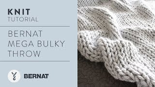 Knit: Bernat Mega Bulky Throw
