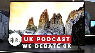 We debate 8K, Twitter faces the music and Facebook fans flee (CNET UK Podcast 544)