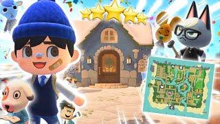 touring my 5 STAR WINTER ISLAND in animal crossing... I have cheese mouse wow