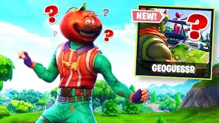 The Hardest Places to Guess in Fortnite! FORTNITE GEOGUESSER!