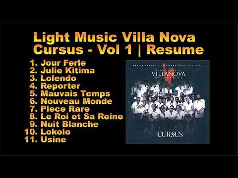 FABREGAS METIS NOIR x LIGHT MUSIC VILLA NOVA | ALBUM *CURSUS* VOL 1 | RESUME