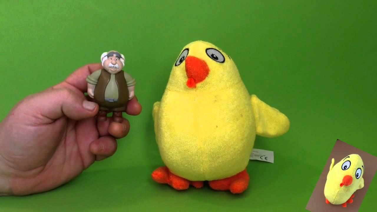 El Pollo Pepe y el abuelo de la Bella y la Bestia cantan Cinco Lobitos