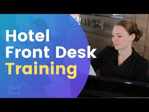 Hotel Front Desk - Full Training - YouTube