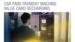 preview picture of video 'Automated Payment Machine - Easy.Cash Simple Recharging of Cash Value Card'