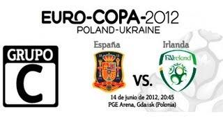 ESPAÑA VS IRLANDA | EUROCOPA 2012 GRUPO C PARTE (2/2) | HIGHLIGHTS  | PARTIDO LIVE FIFA 12