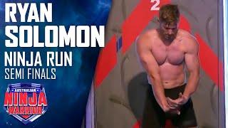 Semi-final Run: Ryan Solomon | Australian Ninja Warrior 2017